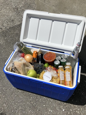 Ultimate Cottage Menu (in a Cooler)